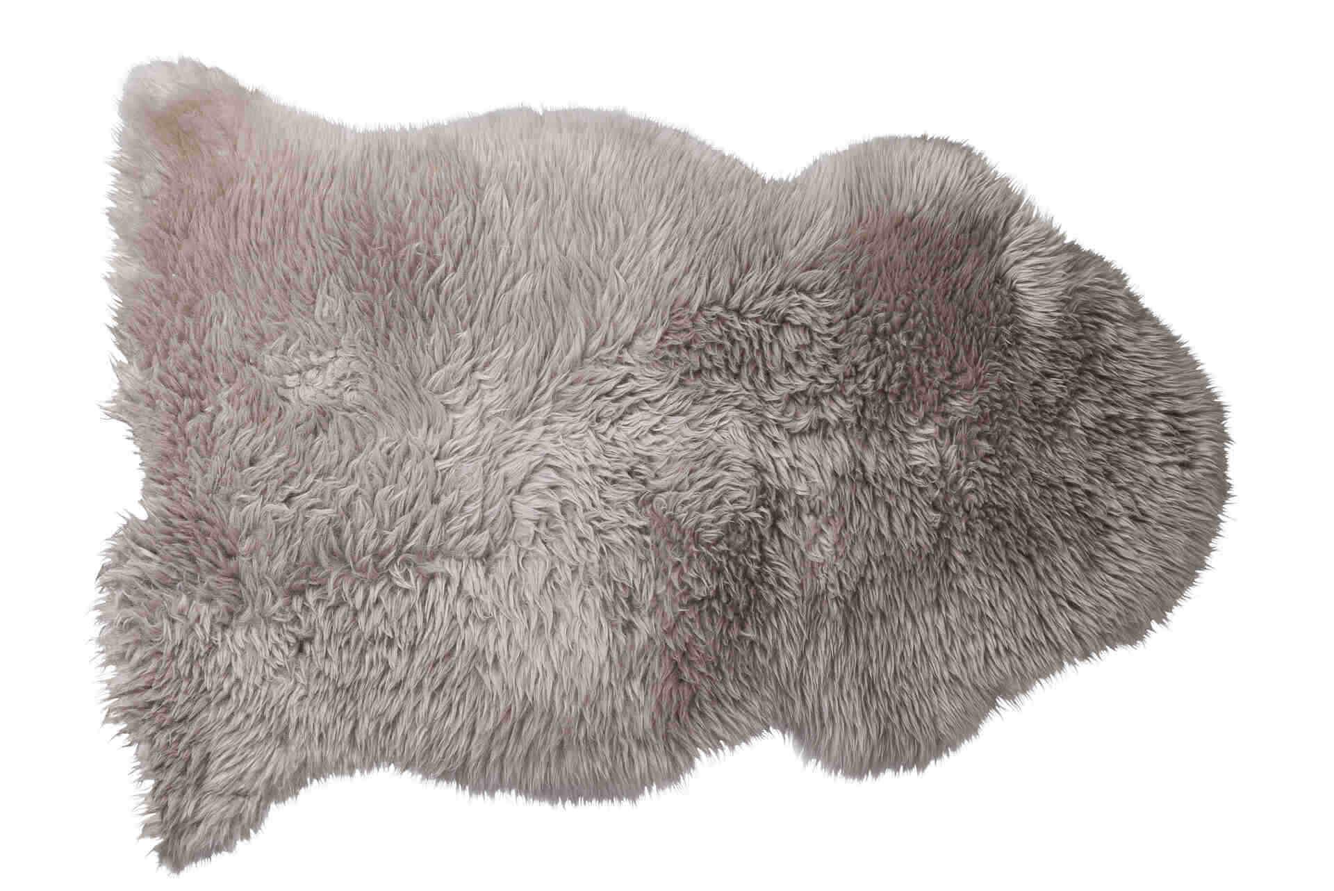 Snugg Fellhof lampaantalja Deko harmaa