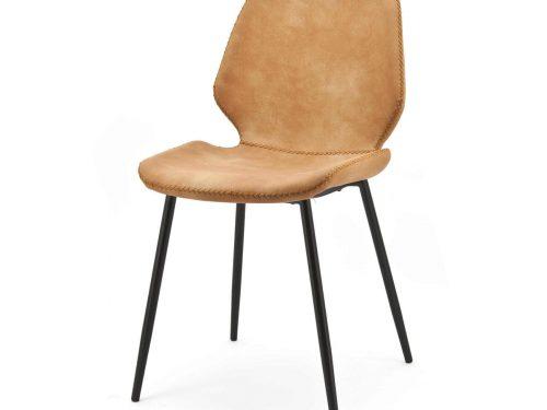 Snugg By-Boo_Seashell konjakinvärinen ruokapöydän tuoli