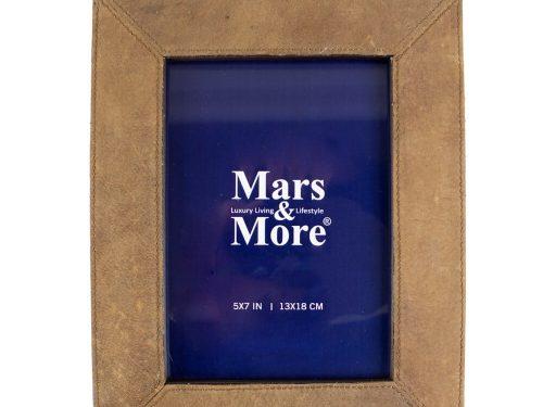 Snugg Mars&More, ruskeat nahkakehykset 18x13