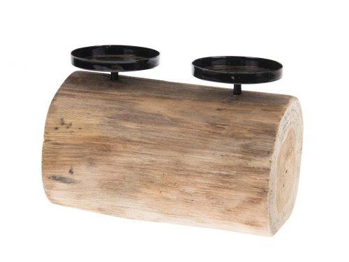 Snugg - kynttilänjalka kahdelle pöytäkynttilälle