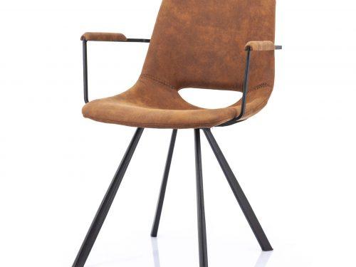 Snugg By-Boo_vagabond käsinojallinen tuoli, konjakinvärinen