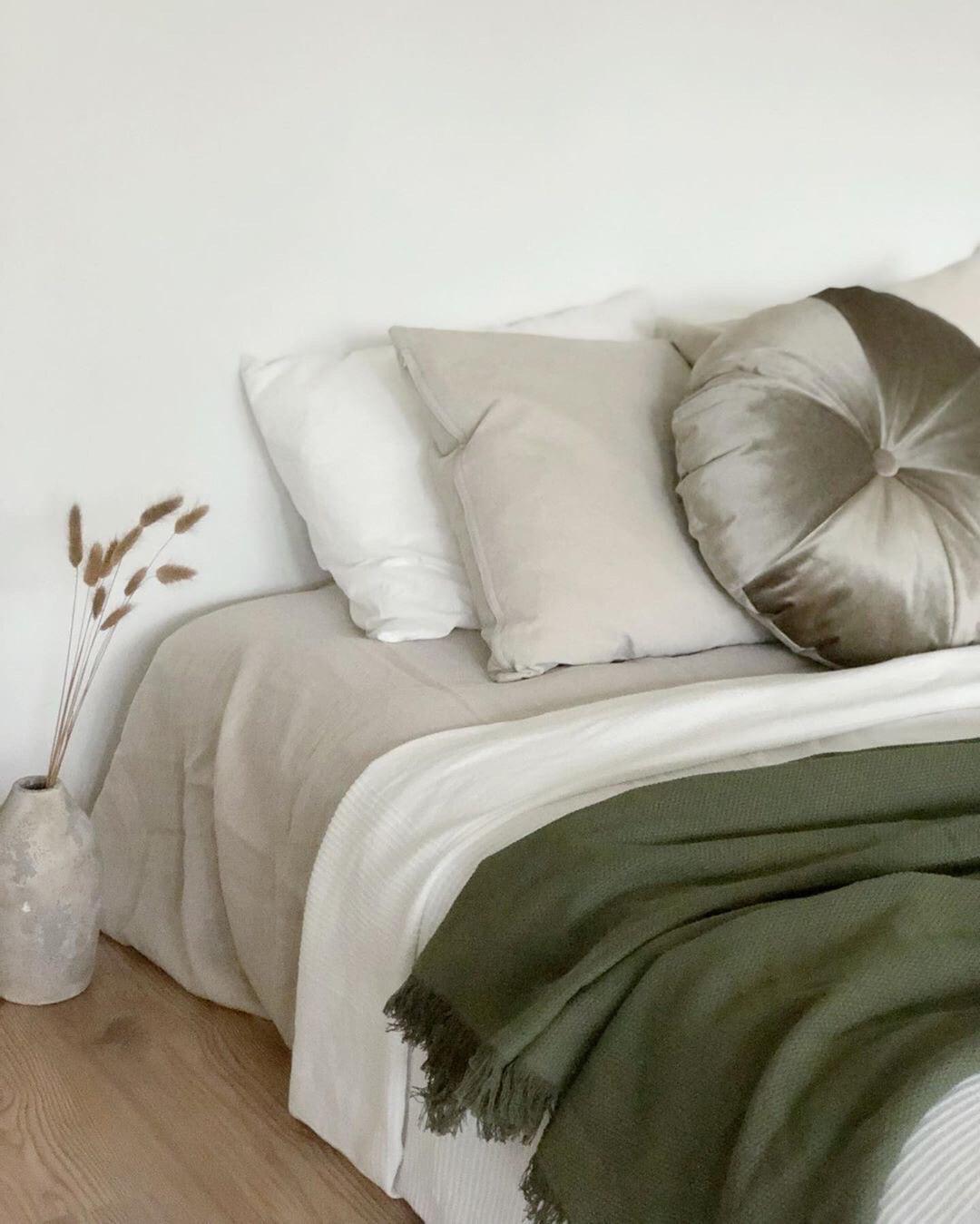 Snugg makuuhuneen sisustus pyöreä tyyny