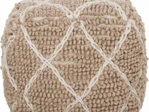 Snugg Must Living pouf-princess-beige-ivory villarahi