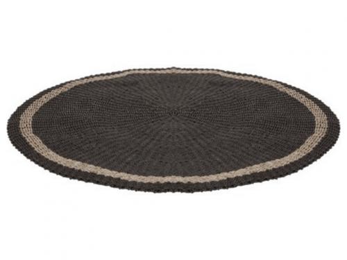 Snugg Prado carpet_pyöreä harmaa matto