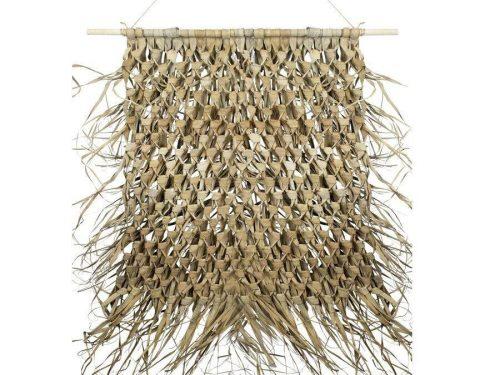 Snugg Punottu boho seinäkoriste palmunlehdistä boho sisustus
