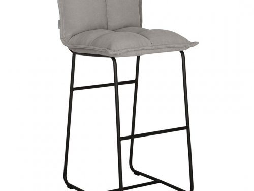Snugg must-living-bar-stool-cloud harmaa saareketuoli