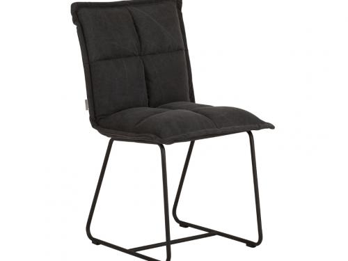 Snugg must-living-side-chair-cloud tuoli, tummanharmaa