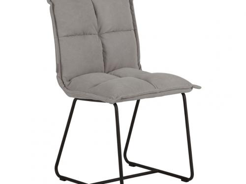 Snugg must-living-chair-cloud harmaa ruokapöydän tuoli