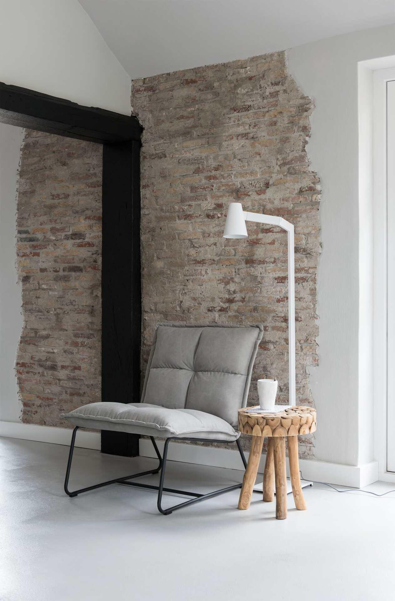 Snugg Must Living Cloud XL Lounge chair__harmaa nojatuoli