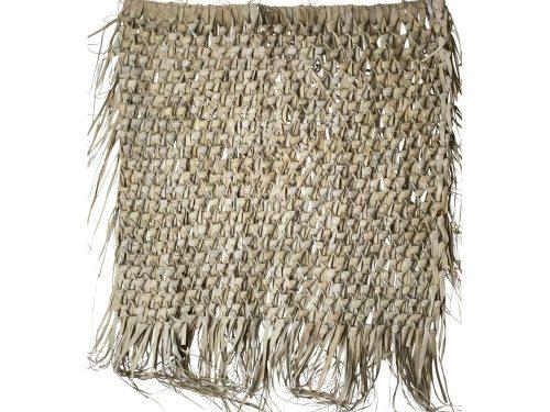 Snugg suuri punottu seinäkoriste palmunlehdistä large, boho sisustus