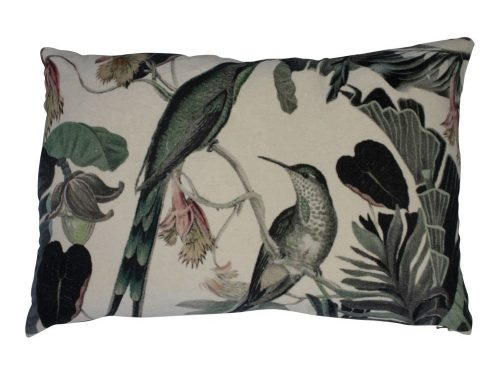 Snugg exotic_honey bird samettityyny 40x60