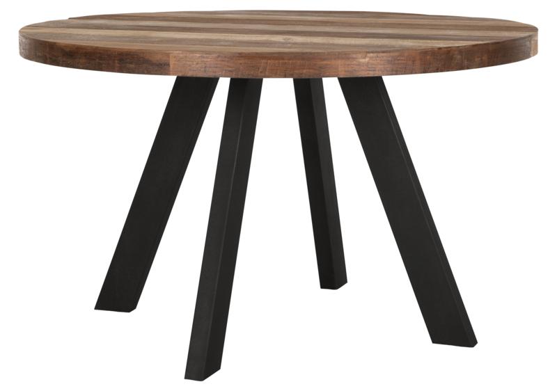 Snugg Timeless puinen pyöreä ruokapöytä 130x130