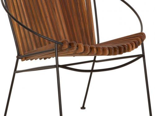 Snugg Must Living Portofino puinen nojatuoli