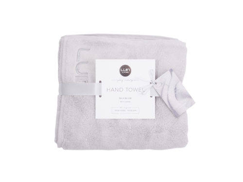 Snugg Luin Hand Towel 50x80 Pearl Grey
