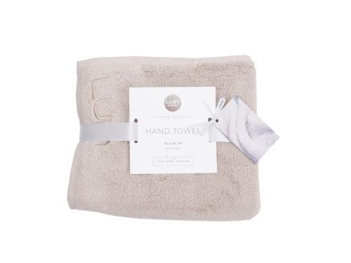 Snugg Luin Hand Towel 50x80 Sand