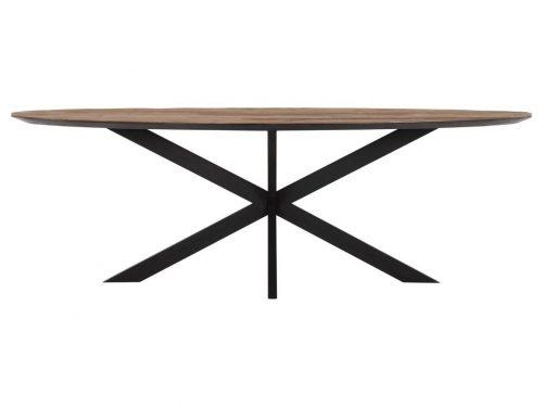 Snugg Timeless Shape puinen ruokapöytä ovaali 240x110