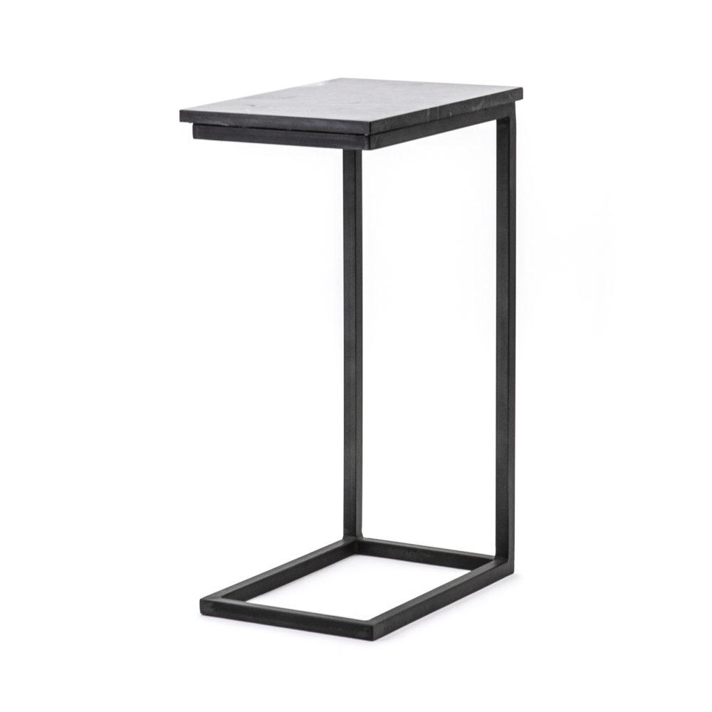 Snugg By-Boo musta marmorinen sivupöytä