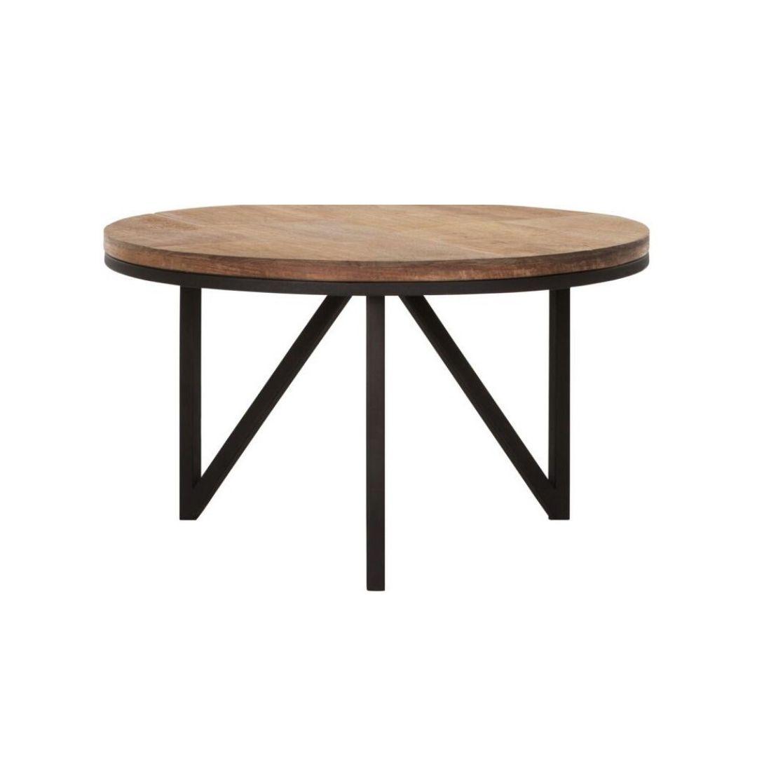 Snugg Odeon puinen pyöreä sohvapöytä medium