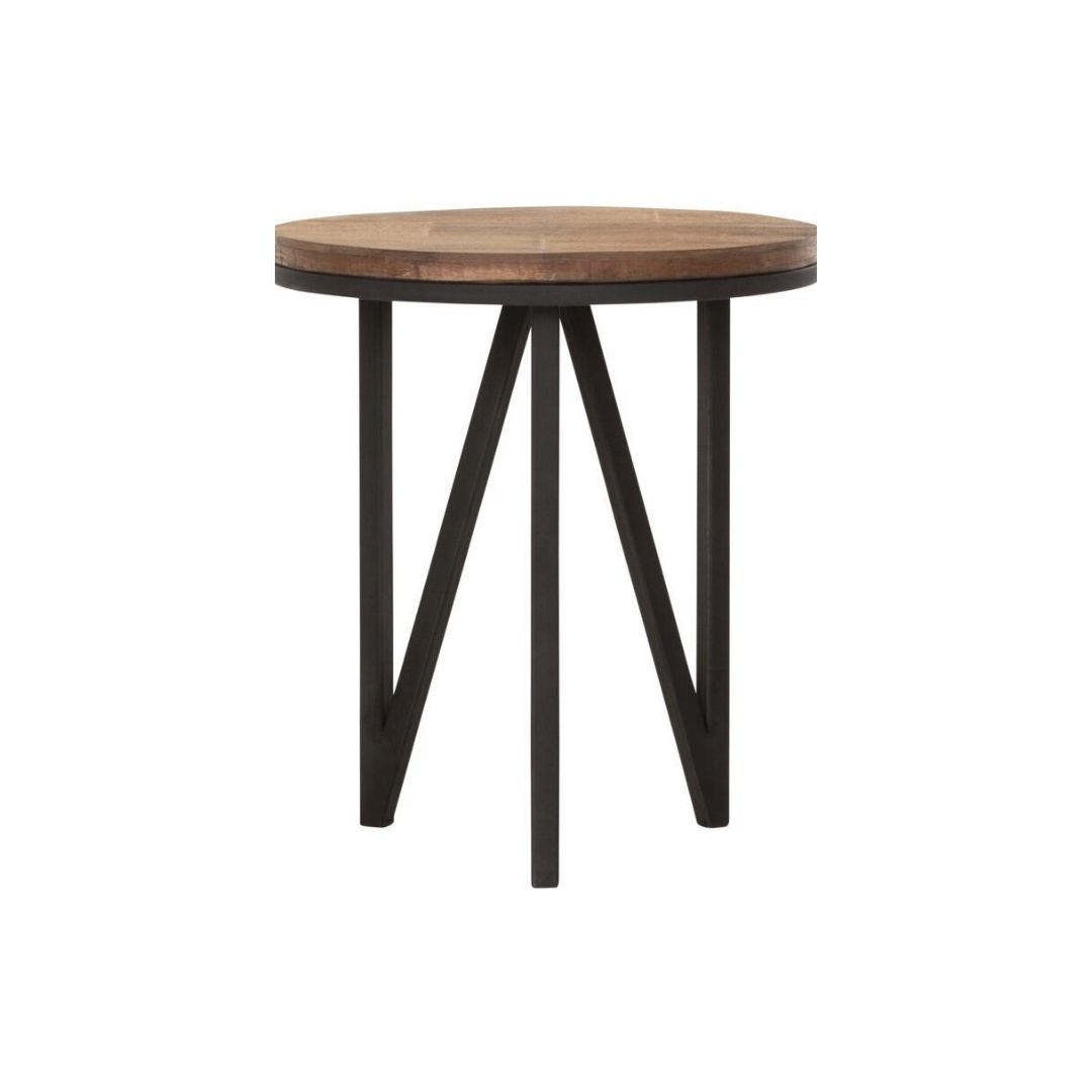 Snugg Odeon puinen pyöreä sohvapöytä small