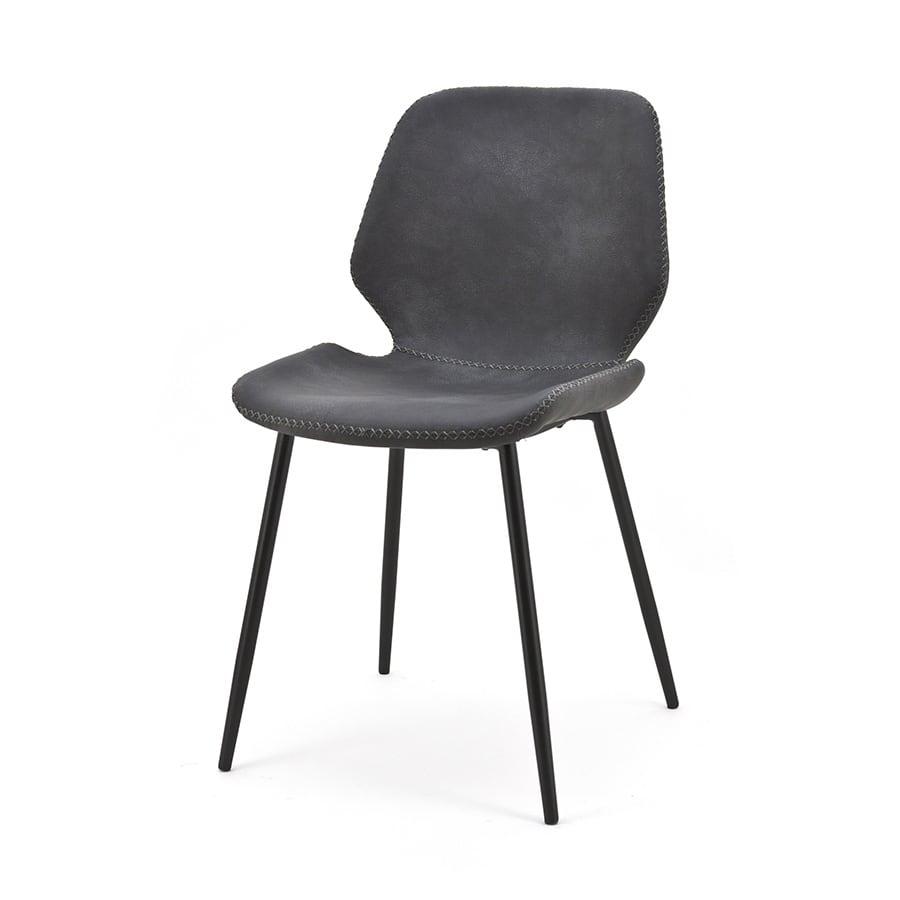 Snugg Seashell tuoli, mustan harmaa