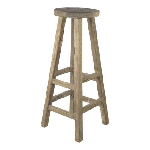 Snugg Rustiikki puinen baarituoli