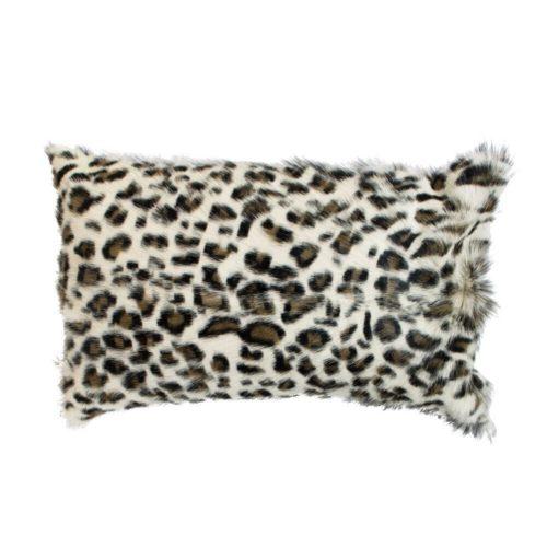 Snugg Leopardikuvioinen sisustustyyny