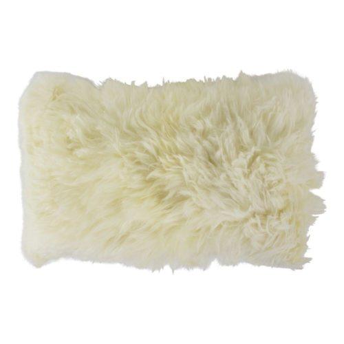 Snugg Sisustustyyny lampaantaljasta 30x50, valkoinen